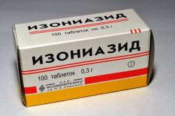 Препарат Изониазид от туберкулеза