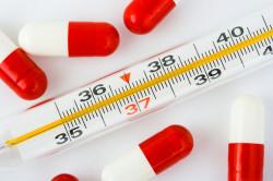 Высокая температура - противопоказание для прививки