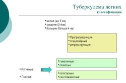 Классификация туберкулемы легких